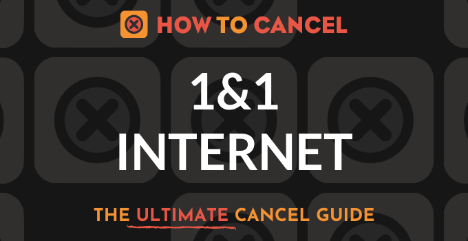 How to Cancel 1&1 Internet