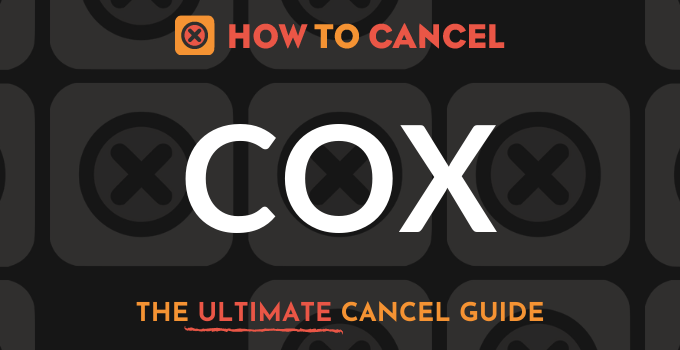 How to Cancel Cox