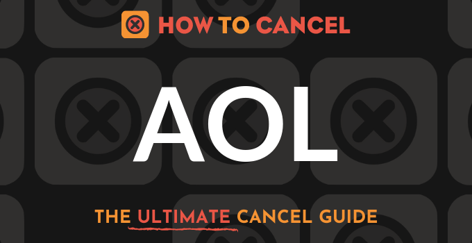How to Cancel your membership with America Online (AOL)