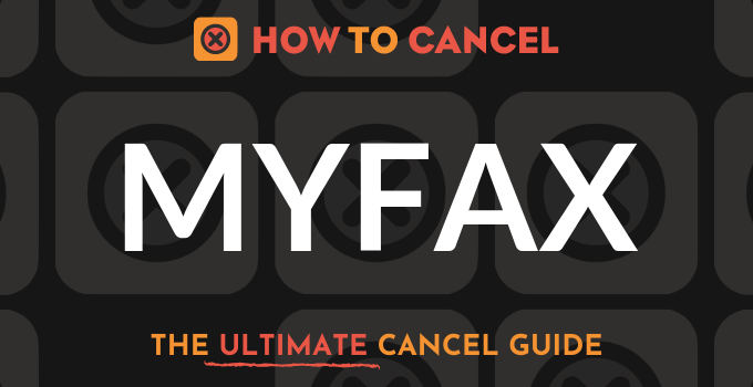 How to Cancel MyFax