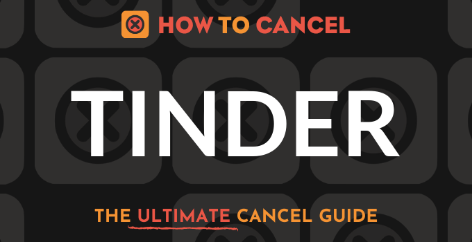 How to Cancel Tinder