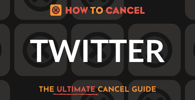 How to Cancel Twitter
