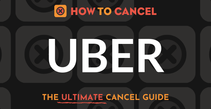 How to Cancel Uber